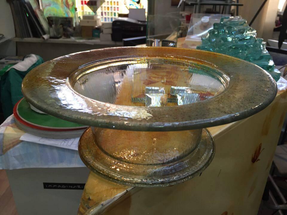 Моллирование стекла в домашних условиях